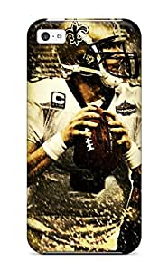Anti-scratch And Shatterproof Drew Brees Phone Case For Iphone 5c/ High Quality Tpu Case