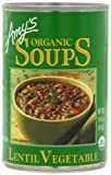 Amy's Organic Soups, Lentil Vegetable, 14.5 Ounce (Pack of 12)