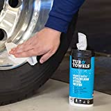 Tub O' Towels Stainless Steel Cleaning Wipes
