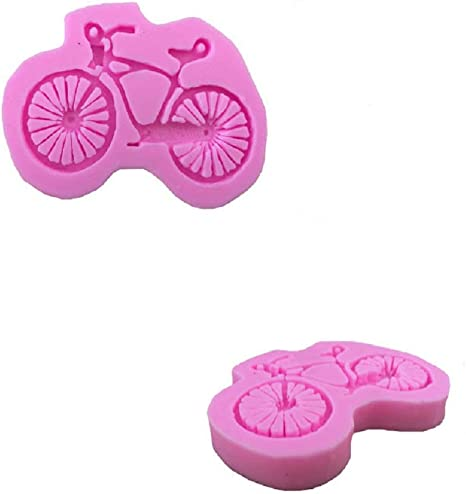 Dosige 1PCS Molde de bicicleta de montaña,Molde de silicona ...