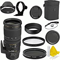 Sigma 70-200mm f/2.8 EX DG APO OS HSM Deluxe Lens Kit for Canon