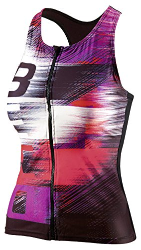 Beco–Tankini de Top, D de Cup besuit Ropa rosa y negro