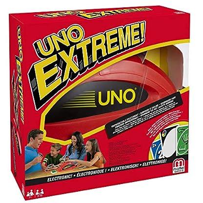 Mattel Games V9364 - UNO Extreme Kartenspiel, geeignet für 2 - 10 Spieler, Spieldauer ca. 15 Minuten, Gesellschaftsspiele und Kartenspiele ab 7 Jahren 4