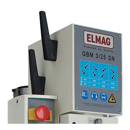 Schnelle Getriebe-S/äulenbohrmaschine 400 V GBM 3//25 SN Elmag