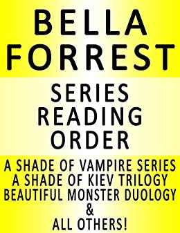 BELLA FORREST - SERIES READING ORDER (SERIES LIST) - IN