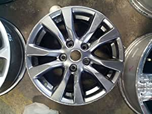 16 inch 2014 2015 2016 2017 nissan altima alloy charcoal oem wheel rim 62718 automotive. Black Bedroom Furniture Sets. Home Design Ideas