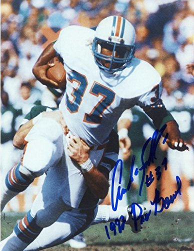 Signed Andra Franklin Photo - Frankin Deceased 1982 Pro Bowl 8x10 W coa - Autographed NFL Photos