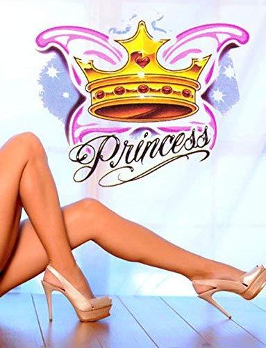 Princess temporary tattoo | Princesses Fake removable tattoos