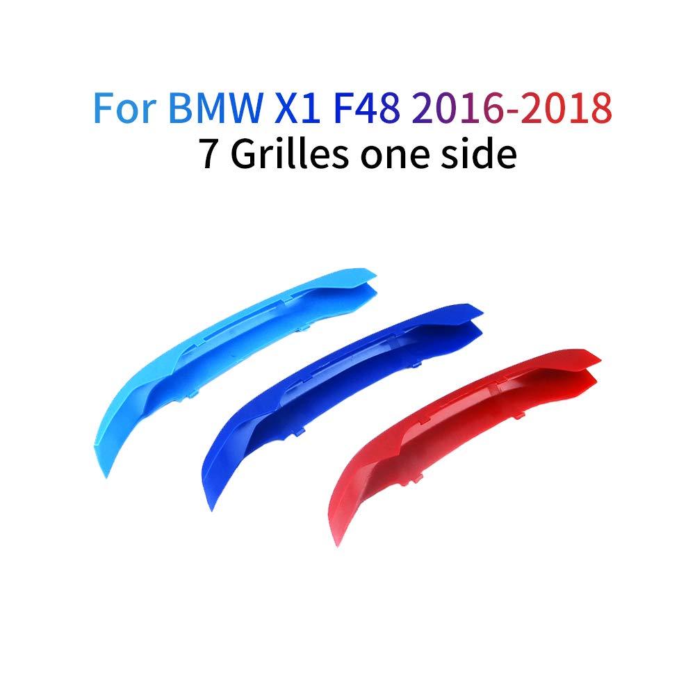 Motor Sports M Colore Strisce Rene Griglie 3Pezzi Per X1 F48 2016-2018 7 Griglia