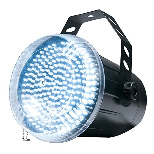 American DJ Snap Shot LED II | Bright strobe effect with 220 high powered white (Snapshot Strobe)