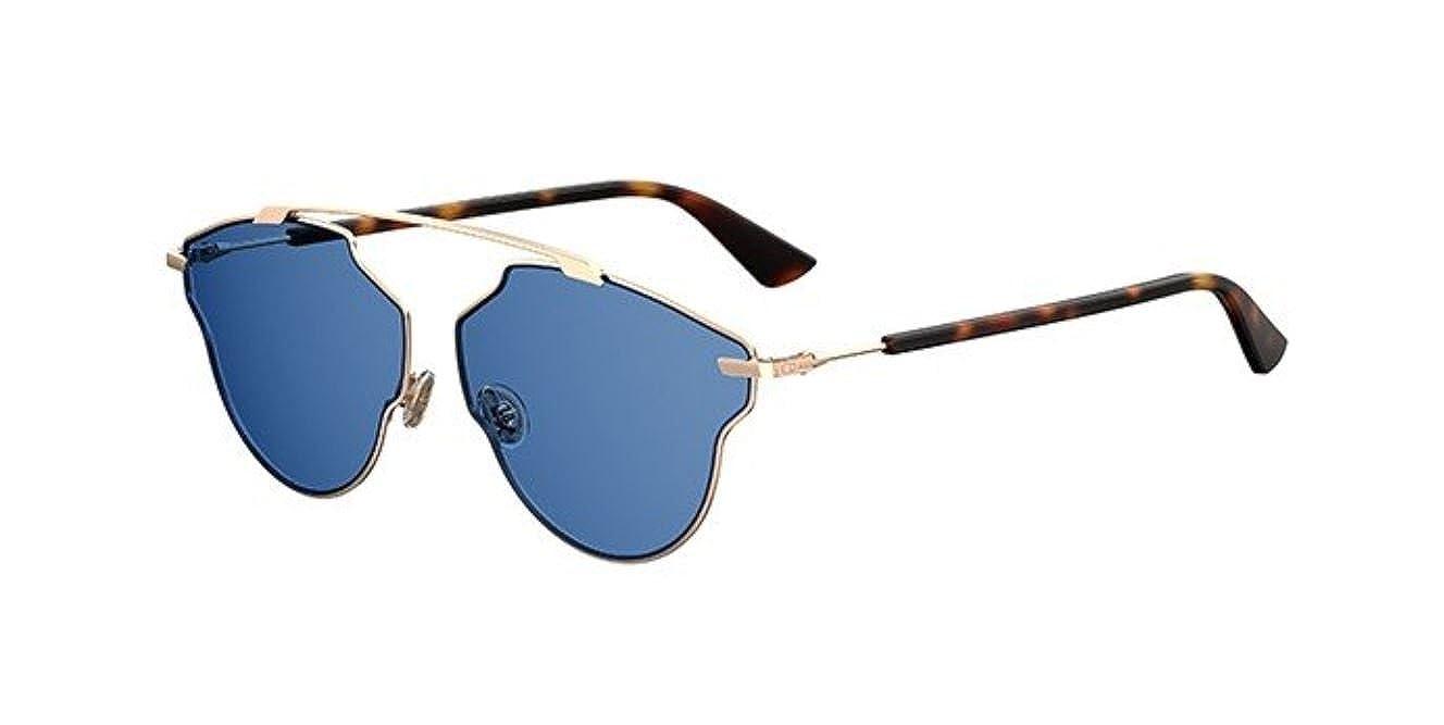 f7025c5b456 New Christian Dior So Real Pop DDB KU copper gold dark havana blue  Sunglasses