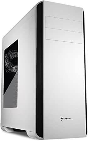 Sharkoon Bw9000 W Pc Gehäuse Weiß Computer Zubehör