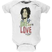 Bob Marley - One Love White Baby One Piece