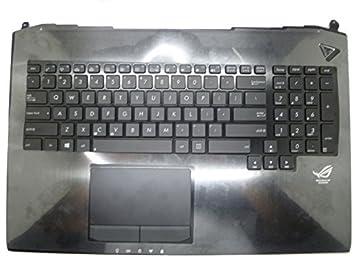 Apoyo para la palma de la mano y teclado para ordenador portátil ASUS G750 G750JH G750JM