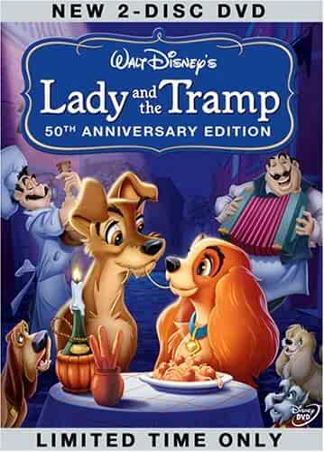 Lady and the Tramp,50th Anniversary Platinum Edition CovA