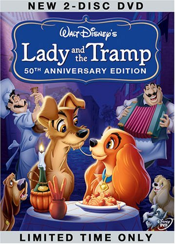 CovA Lady and the Tramp Special Edition, 50th Anniversary Platinum Edition