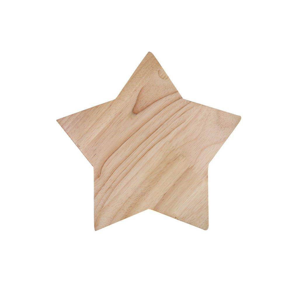 Unbekannt QIQIDEDIAN Pentagram LED Wandleuchte Wohnzimmer Schlafzimmer Kinderzimmer Gang Licht (größe : M)