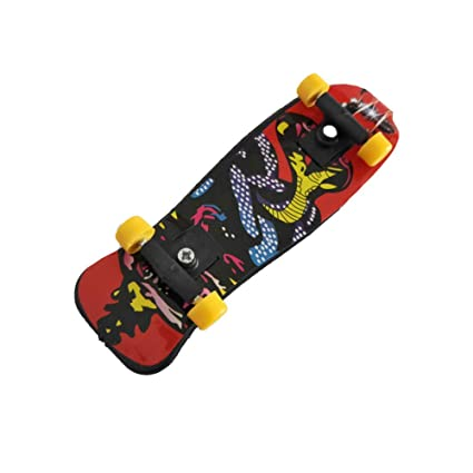 1pc Creativa Monopatín De Juguete Dedo Patinete Scooter Mini ...