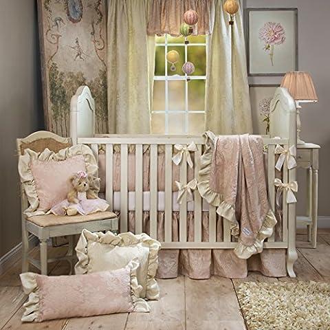 Glenna Jean Angelina Starter Set, Pink, 4 Piece - Glenna Jean Baby Crib