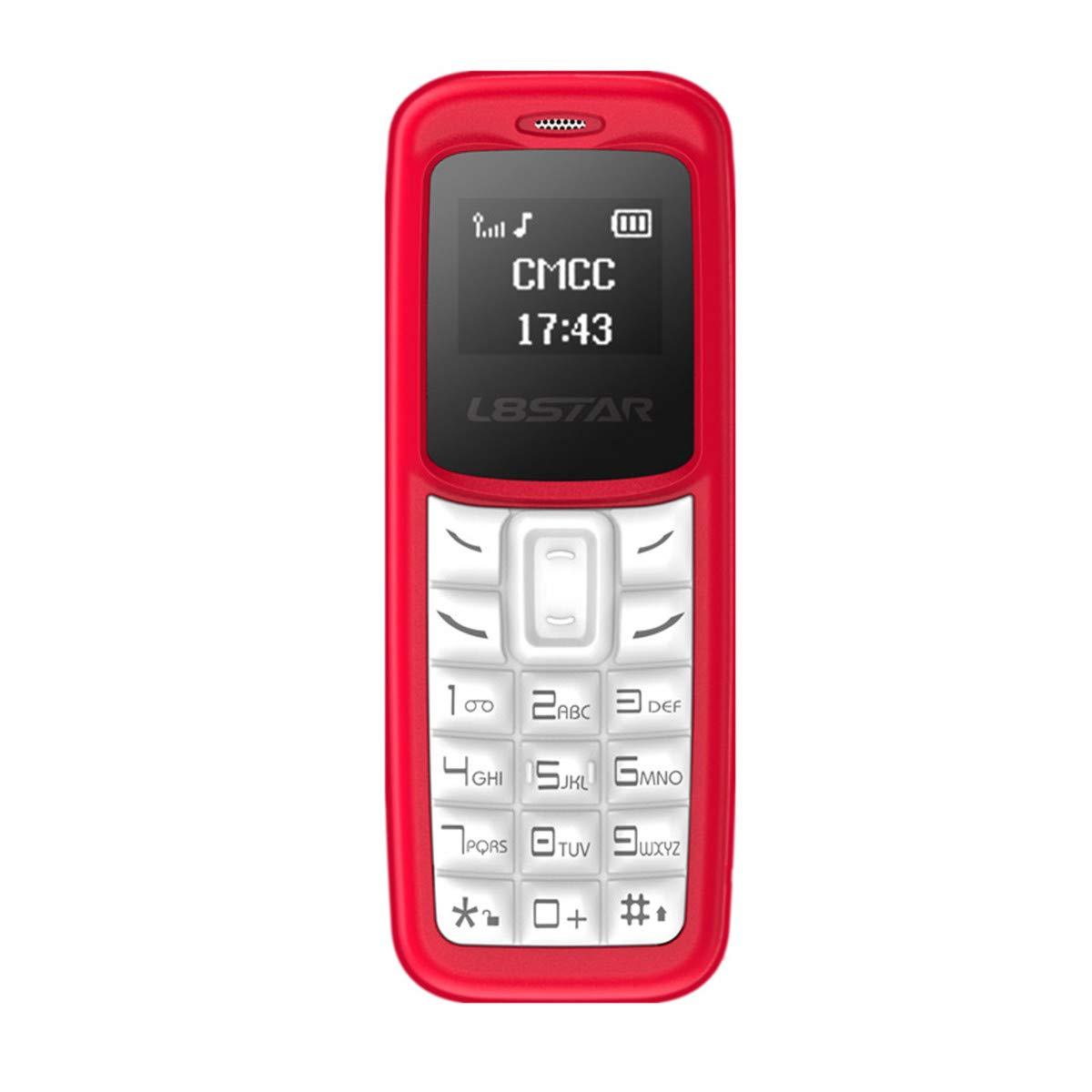 L8STAR BM30 - Mini teléfono SIM TF Tarjeta de 0,66 Pulgadas ...