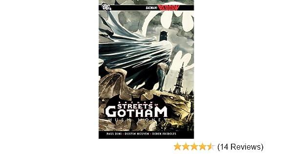 Paperback Batman Reborn Streets Of Gotham Hush Money DC Graphic Novel TPB