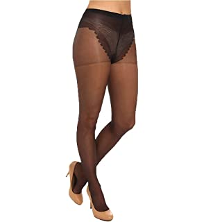 43954d04784fab Amazon.com: Elegant Moments Women's French Cut Support Pantyhose ...