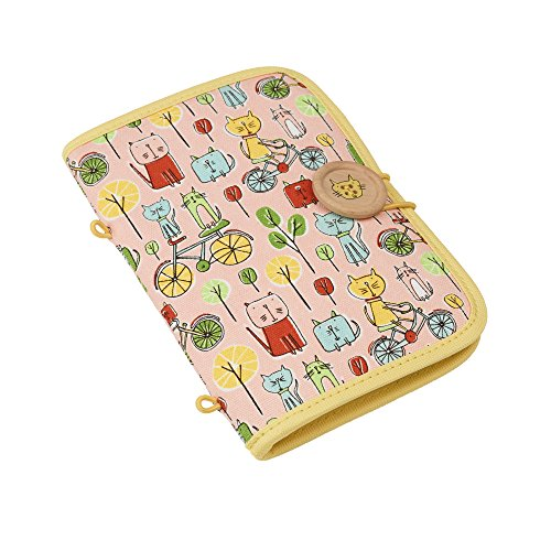 Sugarbooger Fabric Pencil Pouch, Go Kitty Go