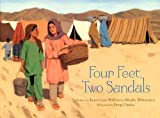 img - for Four Feet, Two Sandals book / textbook / text book