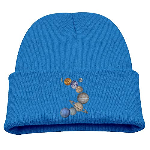 Banana King Solar System Planets Space Baby Beanie Hat Toddler Winter Warm Knit Woolen Watch Cap for Kids