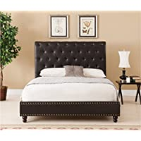 Boraam 95134 Wentworth Bed Set, King, Brown