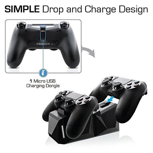 Nyko Charge Block Duo - PlayStation 4