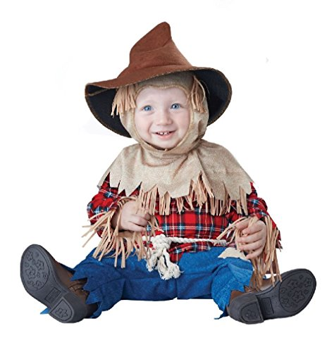 [Fancy Silly Scarecrow Harvest Farmer Baby Infant Costume] (Baby Farmer Halloween Costume)