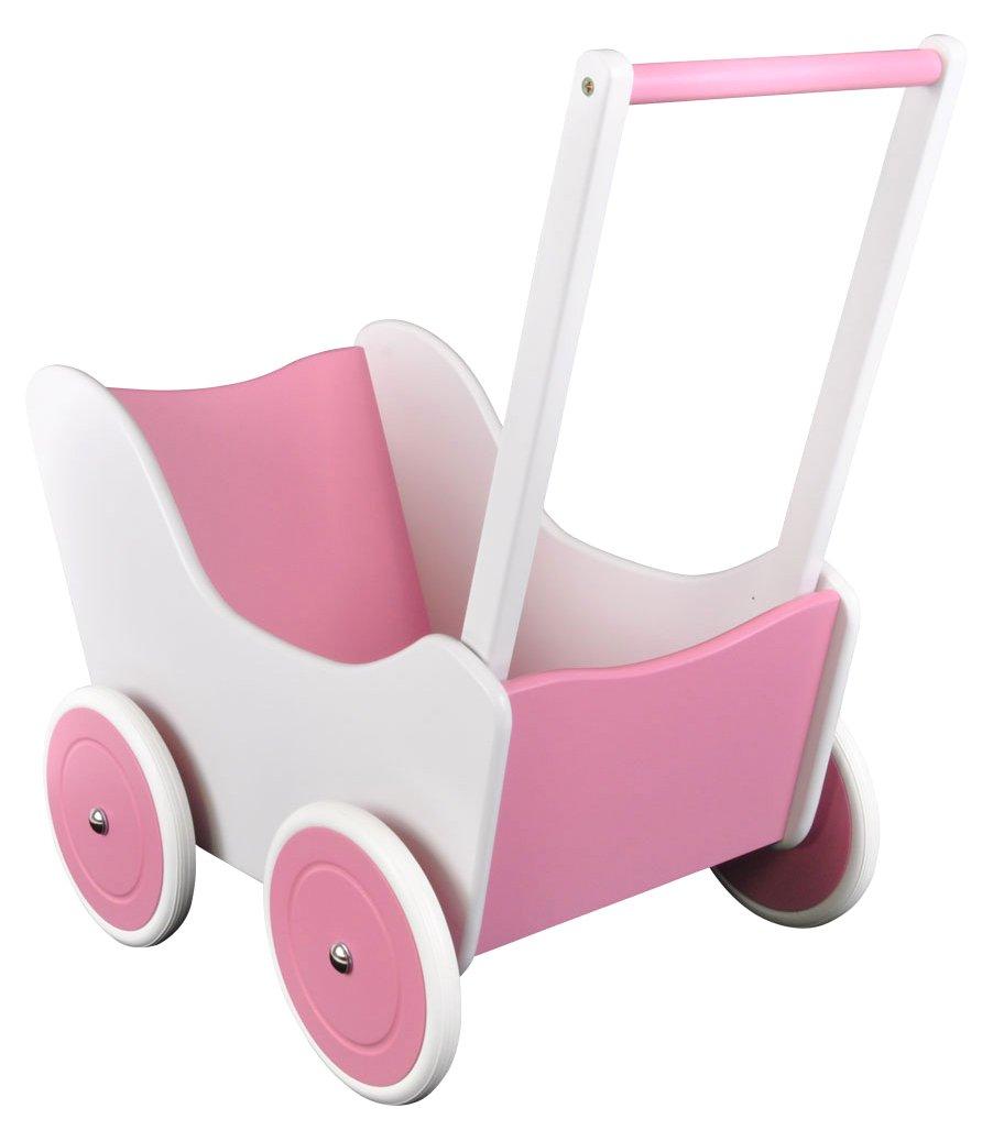 Lauflernwagen Rosa - Bandits & Angels Little Angle weiß-rosa