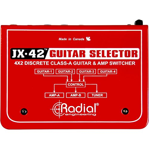 Radial JX-42 Guitar and Amp Switcher by Radial