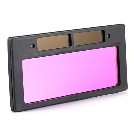 Yosoo Solar Oscurecimiento Automático de soldadura casco lente filtro Shade 3/11high calidad