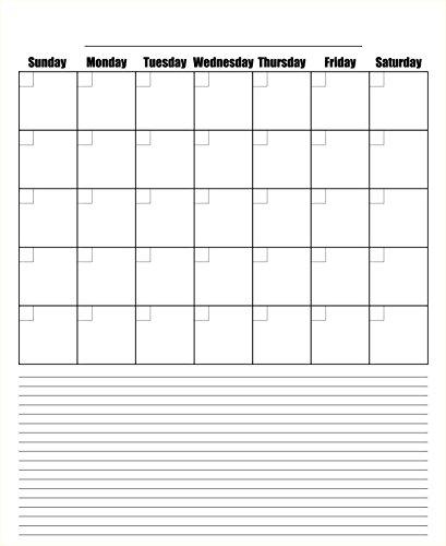 Blank Kitchen Calendar : Dry erase blank monthly refrigerator calendar magnets
