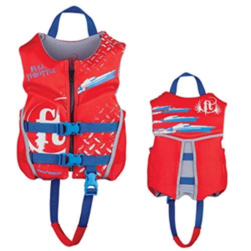 Full Throttle Hinged Rapid-Dry Flex-Back Life Vest - Child 3