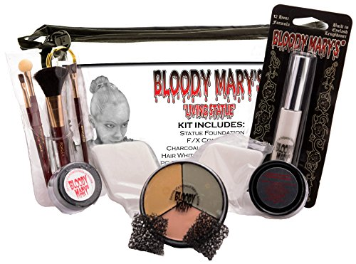 Bloody Mary's The Living Statue Professional Character Makeup (Holloween Custumes)