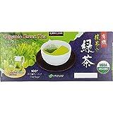 #5: Kirkland Signature Organic Japanese Green Tea, A Blend of Sencha & Matcha 100 bags 0.05 Oz/1.5g per bag by