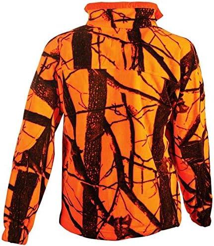Felpa Pile Uomo Mimetico Arancio Univers 94110 51 S