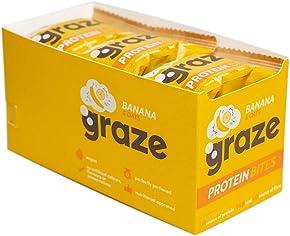 Graze Banana & Oats Vegan Protein Bites 30g (Pack of 15)