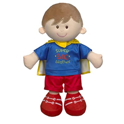 Baby Ganz Super Big Brother Plush Doll: Toys & Games
