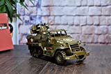 Retro European Light Tank Model Decoration