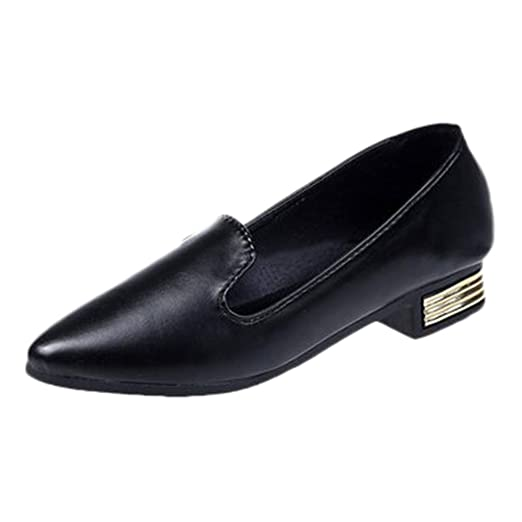 2534cb65c4613 DENER❤ Women Ladies Leather Slip on Loafers Casual Shoes Mules ...