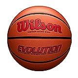 "Wilson Evolution Game Basketball, Scarlet, Official Size -29.5"""