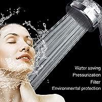 Migaven Alta Presi/ón de Ahorro de agua Lones Negativos Filtrados de Mano de ducha con 3pcs PP filtros de Algod/ón para el Ba/ño en casa