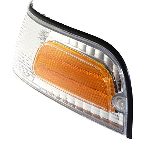 - New Corner Light Parking Side Marker Lamp Driver Left LH Hand Ford FO2520147 (2000 Ford Crown Victoria Police Interceptor)