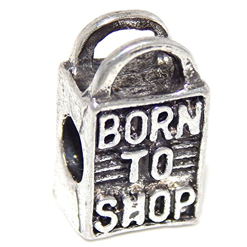 silver-plated-born-to-shop-bag-bead-charm