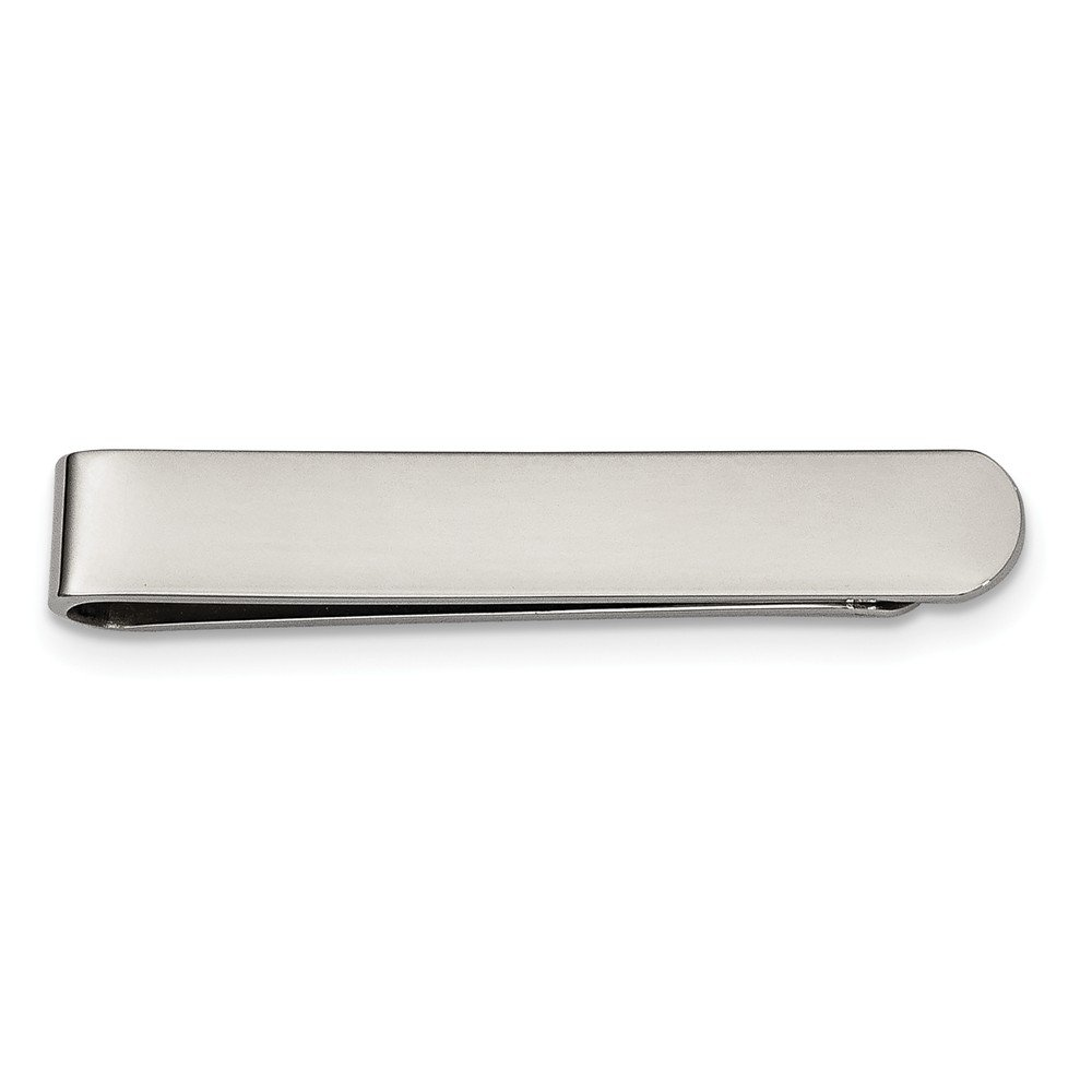 Stainless Steel Polished Money Clip