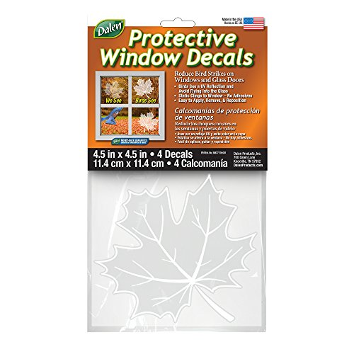 Dalen Protective Window Decal (4 Pack)-(DCLLF4-12)